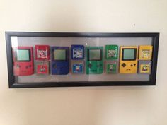 Gen 1 Games with Gameboys<----- I'm sorry but the first generation game boy was grey with purple buttons and the screen was black and green.
