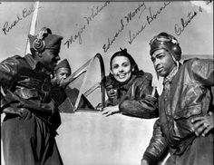 Lena Horne and the Tuskeegee Airmen (Rual Bell, Major L. Whitmon)