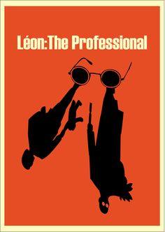 Léon: The Professional (1994) ~ Minimal Movie Poster by Kittitath Tanyavanish