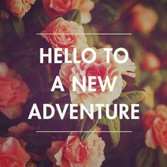 Life's an adventure.enjoy it!