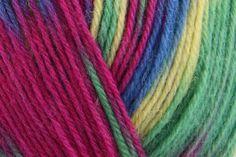 King Cole Zig Zag - Caribbean (1246) - 100g - Wool Warehouse - Buy Yarn, Wool, Needles & Other Knitting Supplies Online!