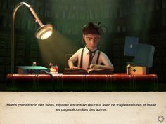 The Fantastic Flying Books of Mr. Morris Lessmore - a wonderful short Oscar-nominated animation sure to bring joy to anyone who loves books and wonderful short animations French Teaching Resources, Teaching French, Teaching Tools, Read In French, Learn French, French Stuff, Bon Film, Great Apps, Morris