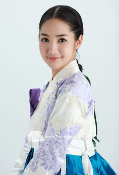 Park Min Young in hanbok