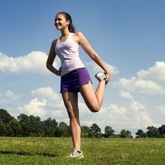 Stretching is a great way to lower stress levels and keep your body healthy!