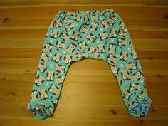 Tasty Happenings: Toddler Footed Pants Tutorial