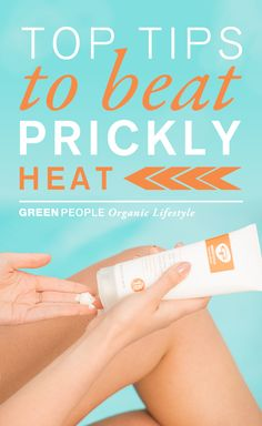 Prickly heat making hot summer days and beach holidays unbearable? Green People, the sensitive skin experts, look at what prickly heat is, what causes it and top tips to relieve the symptoms of prickly heat. Discover sun lotions for skin prone to prickly heat at https://www.greenpeople.co.uk/shop/by-concern/sun-solutions/prickly-heat-products