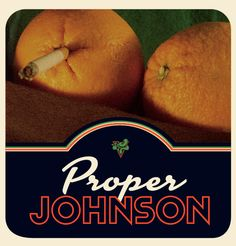 LP cover for afro-funk orchestra, Proper Johnson from Bergen. #fruit #photo #aftersex