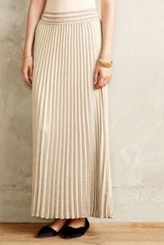 HD in Paris Mica Maxi Skirt #anthrofave #newyearseve