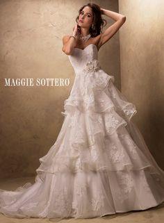 Maggie Sottero's Chloe Wedding Gown