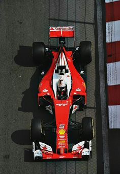 Sebastian Vettel, 2016 Monaco grand prix.