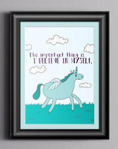 Confident Unicorn