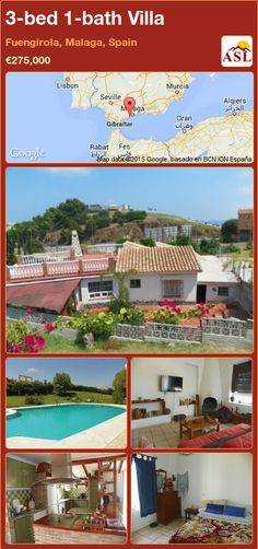 3-bed 1-bath Villa in Fuengirola, Malaga, Spain ►€275,000 #PropertyForSaleInSpain