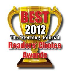Dr. Corbin was nominated Reader's Choice Best Dentist 2012!