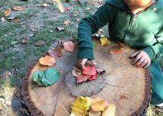 How to Set-Up A Simple Outdoor Math Center - Fairy Dust Teaching Outdoor Learning Spaces, Outdoor Education, Outdoor Spaces, Reggio Classroom, Outdoor Classroom, Kindergarten Classroom, Pre K Activities, Autumn Activities, Creative Activities
