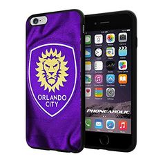 "MLS Orlando City FC Soccer Logo , Cool iPhone 6 Plus (6+ , 5.5"") Smartphone Case Cover Collector iphone TPU Rubber Case Black Phoneaholic http://www.amazon.com/dp/B00VU0K3LK/ref=cm_sw_r_pi_dp_dp3nvb14K8D17"