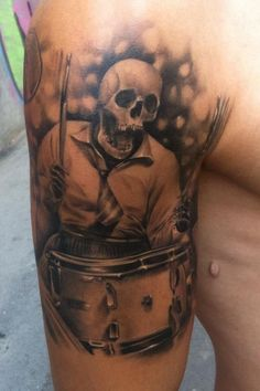 tattoos about drums - Google Search