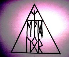 рунические формулы проверенные Deathly Hallows Tattoo, Triangle, Coding, Tattoos, Quotes, Runes, Quotations, Tatuajes, Tattoo