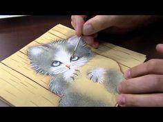 ▶ Pintando Gatinho na Janela - óleo sobre tela - YouTube