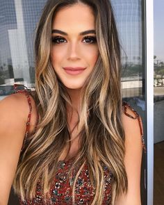 Brown Blonde Hair, Brunette Hair, Brunette Highlights, Fall Highlights, Blonde Honey, Brunette Color, Black Hair, Balayage Hair, Ombre Hair