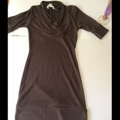 Multiway shirt Multi way shirt,it can be used alone as dress or with pants as shirt. Used once Tops