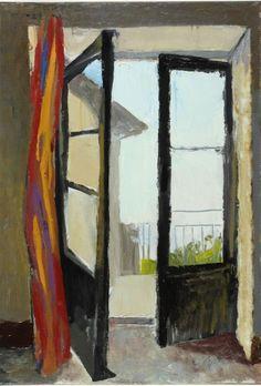 Renato Guttuso (Italian, 1911-1987) Finestra, 1960. Oil on canvas.