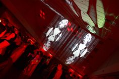 Event uplighting, prom projections