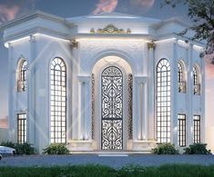 Model House Plan, House Plans, House Outside Design, Modern Exterior House Designs, Classic House Design, Luxury Homes Dream Houses, Neoclassical, Luxury Furniture, My House
