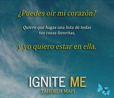 Teaser: Ignite Me by Tahereh Mafi
