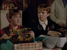 FAT: You brought us a dress?  COUSIN JESSIE: No those are kilts. All the real men of Scotland wear kilts.  FAT: What do the real women wear?  (A Meeting of the Clan)