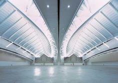 ConvensiA Convention Center by Kohn Pedersen Fox (KPF) Steel Trusses, Convention Centre, Interior Architecture, Building, Fox, Architect Design, Countries, Photography, Buildings