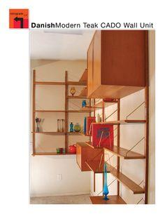 Mid Century Teak Cado Wall Unit by RetrogradeLA on Etsy, $3200.00