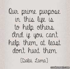 Kindness Quote Our prime