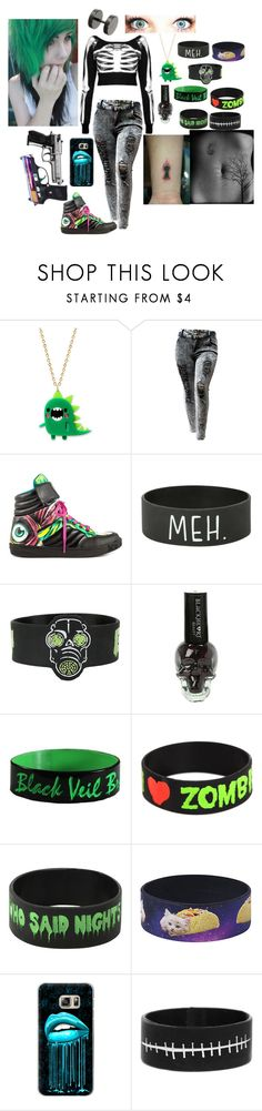 """""""#20"""" by loa-chan ❤ liked on Polyvore featuring Iron Fist, Casetify and Killstar"""