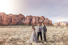 Zion National Park Wedding - Rustic Wedding Chic