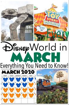 Everything you need to know about planning an amazing trip to Walt Disney World in March including what to pack, weather, crowd sizes, and more! HOW TO TRAVEL ALONE # europetrip # irelandtravel Disney World Park Hours, Disney World Packing, Disney World Parks, Walt Disney World Vacations, Disney Travel, Disney Cruise, Vacation Ideas, Disney Vacation Planning, Trip Planning