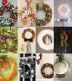 Make it Snazzy: 12 DIY Holiday Wreaths