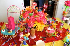 This Cozy Home: Candy Birthday Party