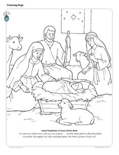 lesson 46 jesus christ is the greatest gift christmas primary 2 christmas coloring sheetsbible coloring pagesnativity