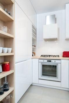 Mieszkanie na Biskupinie, projekt wnętrza Krystyna Dziewanowska / Red Cube Design
