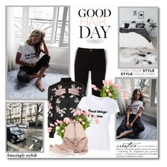 """""""Good things take time!!"""" by lilly-2711 ❤ liked on Polyvore featuring Frame, 3x1, The French Bee, Valentino, Rebecca Minkoff and WALL"""