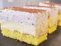 Prăjitură cu crema de vanilie si spuma de ness - Anyta Cooking Sweets Recipes, Cake Recipes, Cooking Recipes, Torte Cake, Different Cakes, Vanilla Cake, Eat Cake, Cheesecake, Food And Drink