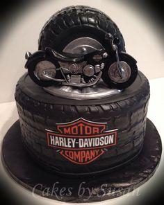 Harley cake. Harley  is all hand made.