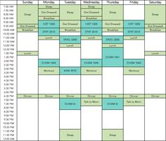 How to Make a Study Schedule | Work outfits | Pinterest | Study ...