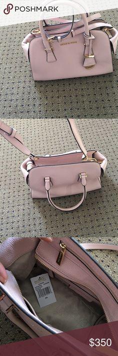 Michael Kors pink satchel with dust bag Pink satchel with gold detailing MICHAEL Michael Kors Bags Satchels