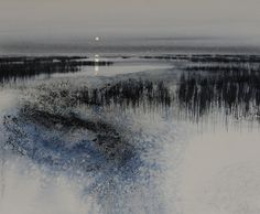 Marsh moonlight by Naomi Tydeman