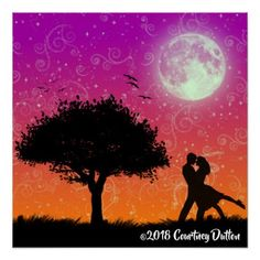 Romantic Art Design - March 3 2018 - Poster  $21.80  by gothicpoet  - custom gift idea