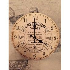 Vintage Railway Wall Clock £9.95
