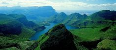 The Blyd River Canyon in the Blyderrivierspoort Nature Reserve, serves as the world's third largest canyon!