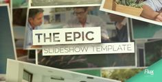 Epic Slideshow After Effects Template   Introducing the Epic Slideshow: for those moments when you need a long, epic, engaging slideshow for your business, wedding or your epic photography.  This m...