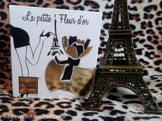 Magnifique Petite Fleur d'Or avec notre chère Tour Eiffel ! ;) (Juillet.2015)